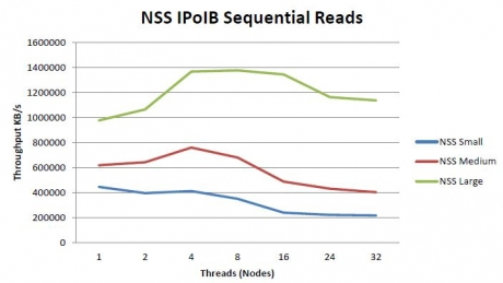 Dell NSS Read Performance